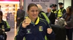 World Champ Katie Taylor returns home