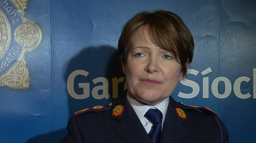 Nóirín O'Sullivan said it was a great honour to be appointed Garda Commissioner