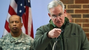 Missouri Governor Jay Nixon 2,200 National Guard troops were being deployed in the St Louis area