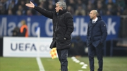 Jose Mourinho (L) and Chelsea got the better of Roberto Di Matteo's Schalke's on Tuesday night