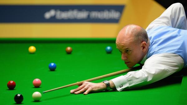 Peter Ebdon edged through 6-5 against Ross Muir