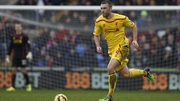 Rickie Lambert scored his first league goal for Liverpool on Sunday