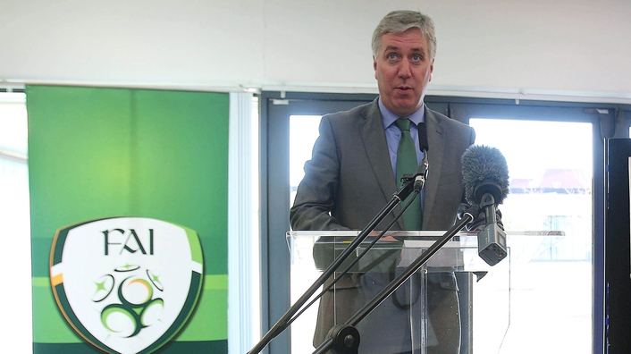 FAI Chief John Delaney and The Guardian