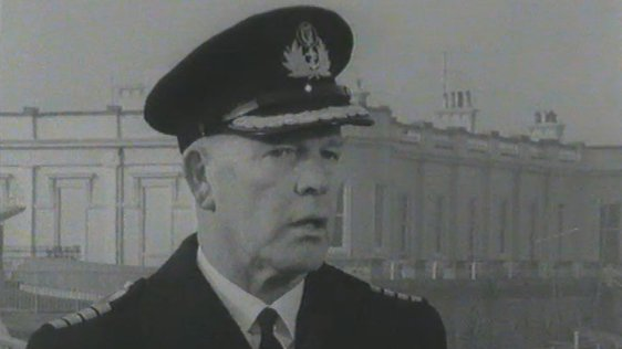 Commander Andrew Thompson, Irish Navy