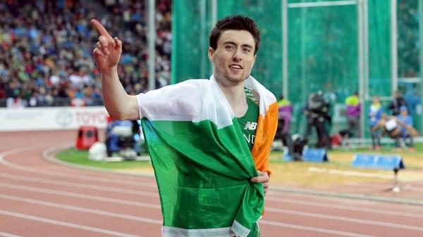 Mark English will lead the Irish contingent in the Czech Republic