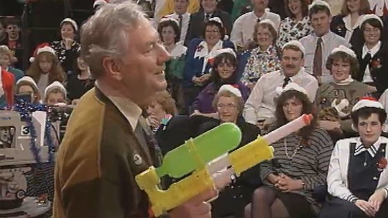 Gay Byrne on 'The Late Late Toy Show'
