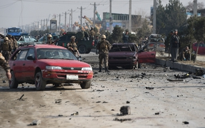 Thirty-three people were wounded in the blast east of Kabul