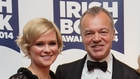 Cecelia Ahern and Graham Norton - Winners of Popular Fiction Book of the Year and Non-Fiction Book of the Year respectively