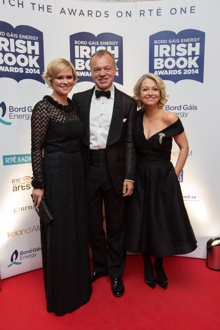 Cecelia Ahern, Graham Norton and Cathy Kelly