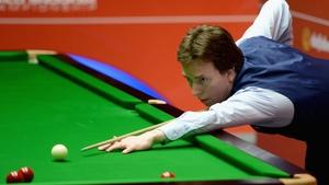 Ken Doherty beat Zhou Yuelong from China 4-3