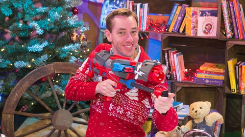 What will Ryan wear on this year's Toy Show?