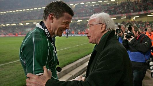 Rugby great, Jack Kyle dies