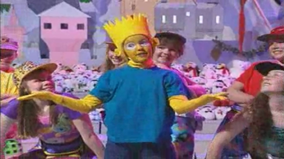 'Do the Bartman' on the Toy Show