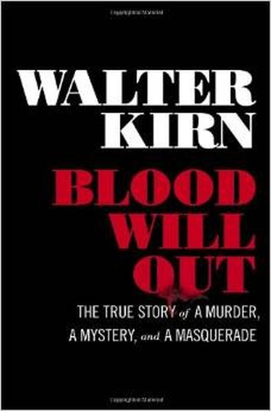 Book: Blood Will Out