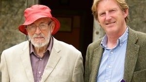 Ginger Man author JP Donleavy with actor Adrian Dunbar in The Roaring Boy, which concerns Brendan Behan's legacy.