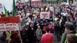 Govt insists protests won't change plans for water charges