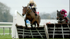 Nicholas Canyon, ridden by Paul Townend, clears the last to win