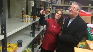Archbishop Diarmuid Martin launched his second Christmas Diocesan Food Appeal today