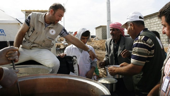 Syrian refugees face hungry winter