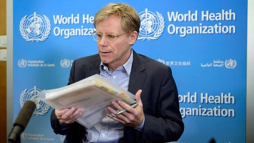 Bruce Aylward praised Sierra Leone government's efforts to combat the Ebola epidemic