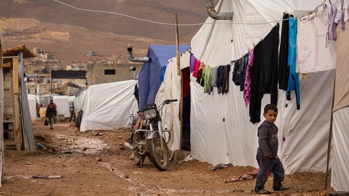 Syrian refugees face dangerous Lebanon storm
