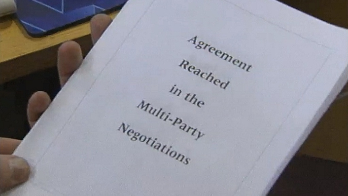Foreign Affairs minister reacts to Northern Ireland agreement