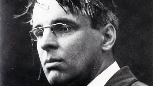 Next year marks 150 years since WB Yeats' birth
