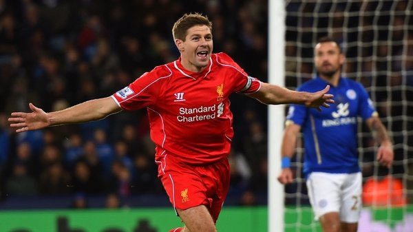 Steven Gerrard has made 695 appearances for Liverpool since making his first-team debut against Blackburn Rovers in 1998