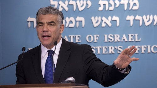 Finance minister Yair Lapid was fired over policy disputes
