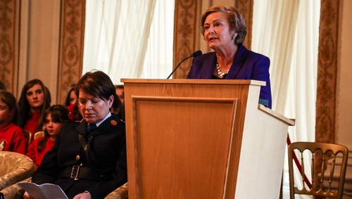Minister for Justice Frances Fitzgerald spoke of the impact on families when a person goes missing