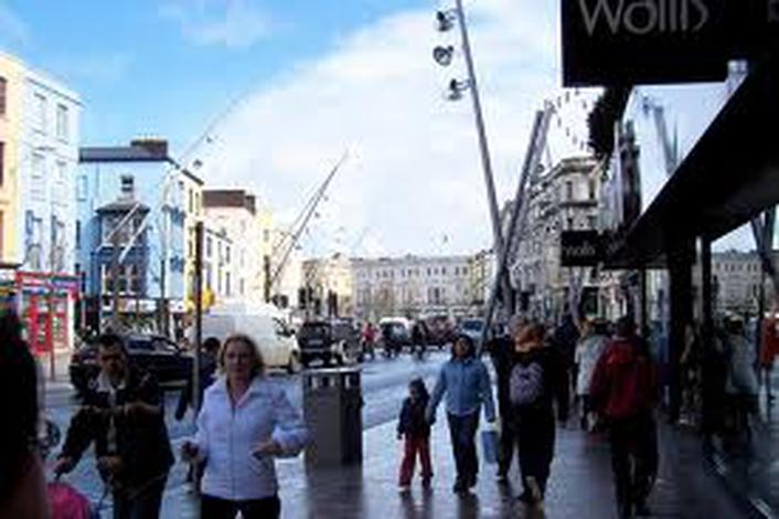 Teachers One Day Strike - students  in Cork