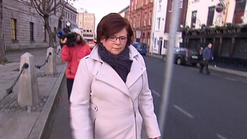 Marie Farrell walked out of the witness box this morning