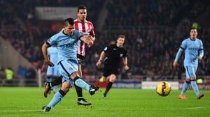 Sergio Aguero will miss the busy Christmas period