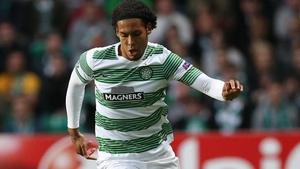 Virgil van Dijk scored the goal that sent Celtic back to the top of the SPL