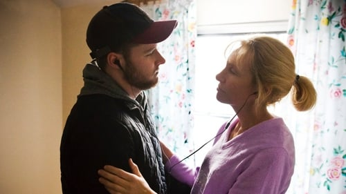Jack Reynor, with Toni Collette, who plays his mother in Glassland