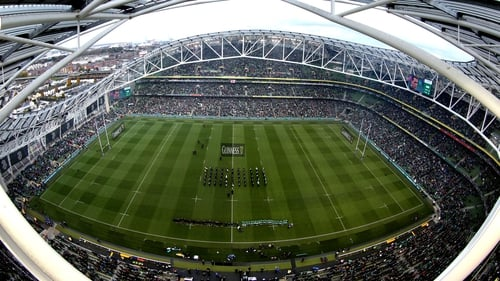 Aviva Stadium will be included in the IRFU bid, along with Croke Park