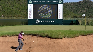 Luke Donald leads at the Nedbank Golf Challenge