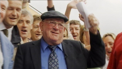 Jackie Healy-Rae was elected to Dáil Éireann in 1997 and served the Kerry South constituency until 2011