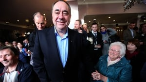Alex Salmond plans to donate one of his salaries to charity if he serves as an MP and MSP