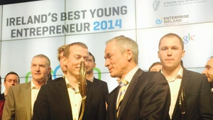 Eamon Keane received €50,000 prize for his company Xpreso