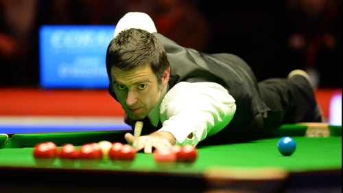 A break of 51 in the final frame helped Ronnie O'Sullivan stumble across the line at the Barbican Centre in York