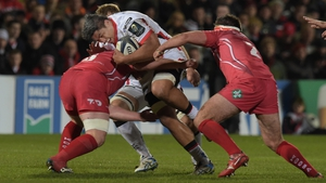 Nick Williams damaged his hamstring against Scarlets