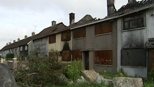 Hundreds of houses have been demolished in the Moyross area over the past five years