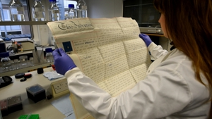 Parchments made from animal skins, used to record information in the past, are a reliable source of DNA