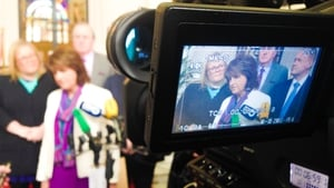 Joan Burton described the proposed pensions as 'modest'
