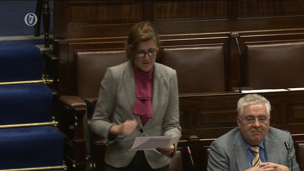 Michelle Mulherin emphasised the calls were made in the course of her work