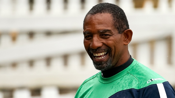 Phil Simmons said Ireland had played as well as he'd seen since 2011 at a recent training camp