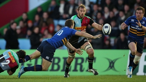 Chris Robshaw playing for Harlequins in 2015
