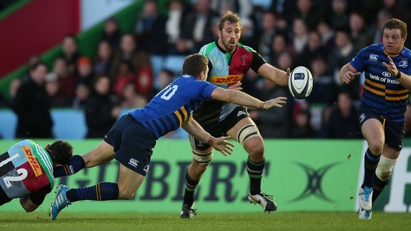 Chris Robshaw picked up injury during clash with Leinster at the Stoop last weekend