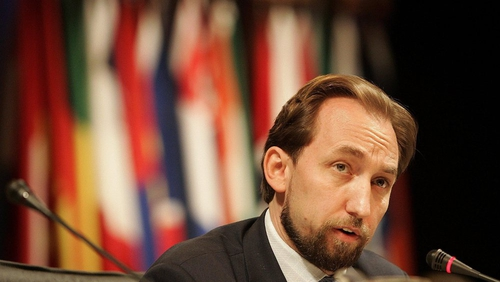 Zeid Ra'ad Al-Hussein says the convention against torture allows for 'no exceptional circumstances'